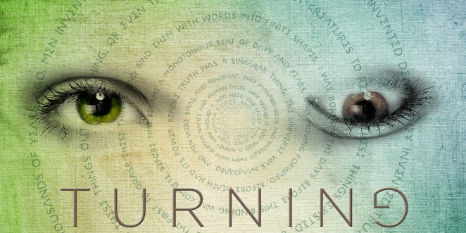 Promo image for TURNING. My paranormal novel about reincarnation through possession.